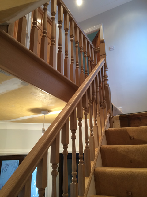 All Oak Refurbished Stairs Birmingham And Staffordshire
